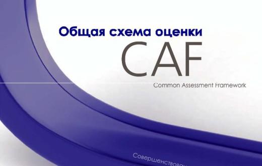 Общая схема оценки CAF: Совершенствование через самооценку